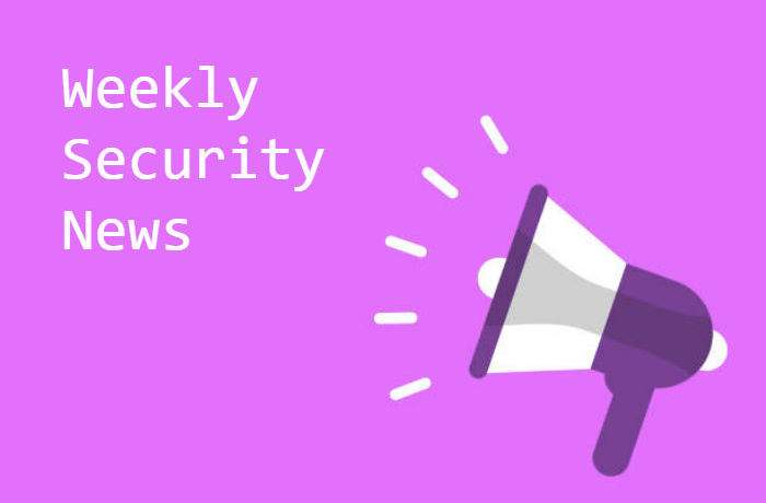 Cyber Security News Update – Week 32 of 2019
