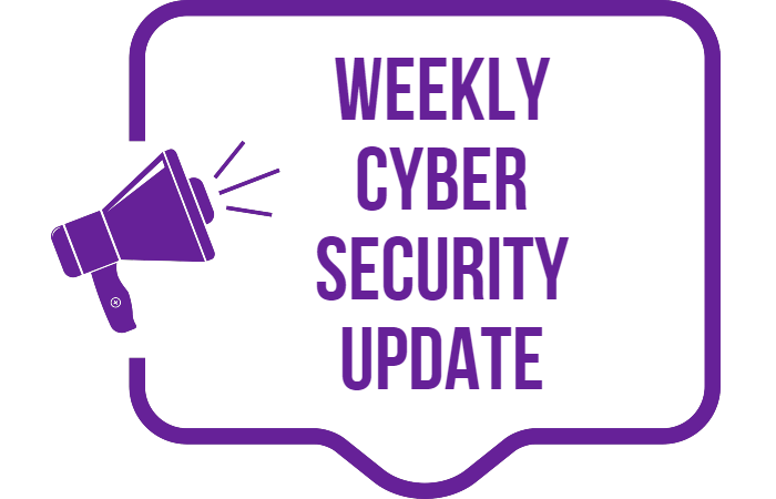 Cyber Security News Update – Week 22 of 2020