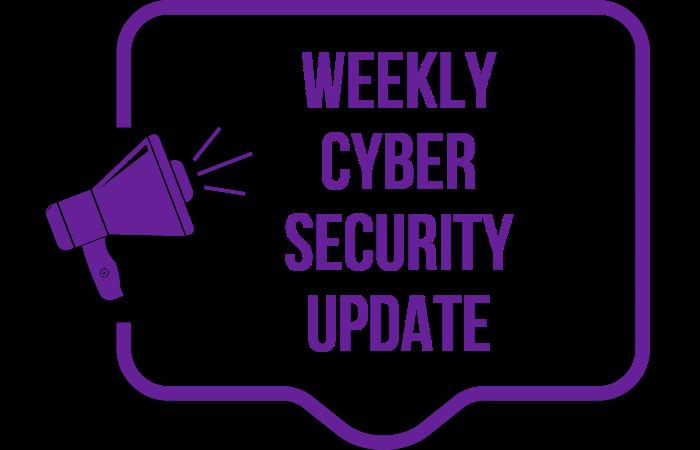 Cyber Security News Update – Week 22 of 2020