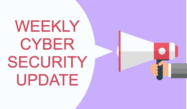 Cyber Security News Update – Week 1 of 2021